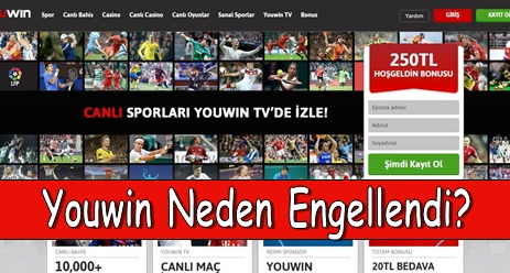 Youwin Neden Engellendi